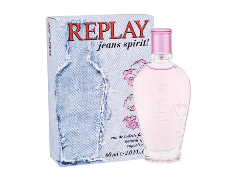 Toaletna voda Replay Jeans Spirit! For Her 60 ml