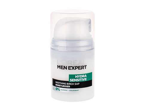 Dnevna krema za obraz L´Oréal Paris Men Expert Hydra Sensitive Moisturiser 50 ml