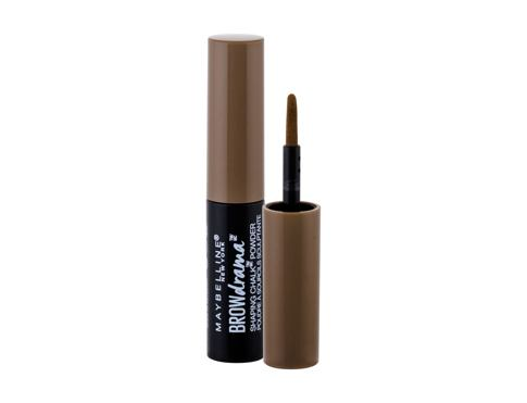 Puder za obrvi Maybelline Brow Drama Shaping Chalk 1 g 120 Medium Brown