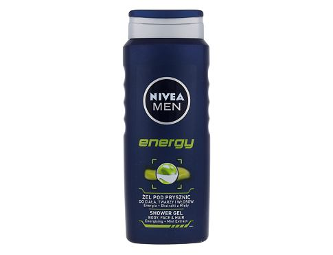 Gel za prhanje Nivea Men Energy 500 ml