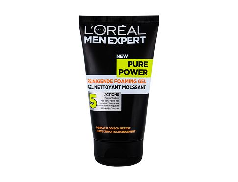 Čistilni gel L´Oréal Paris Men Expert Pure Power Charcoal 150 ml