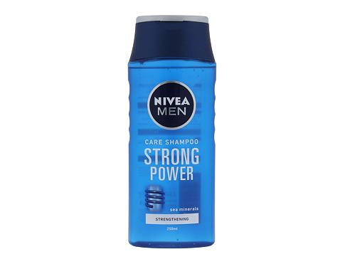 Šampon Nivea Men Strong Power 250 ml