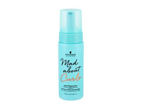 Oblikovanje las Schwarzkopf Mad About Curls Light Whipped Foam 150 ml
