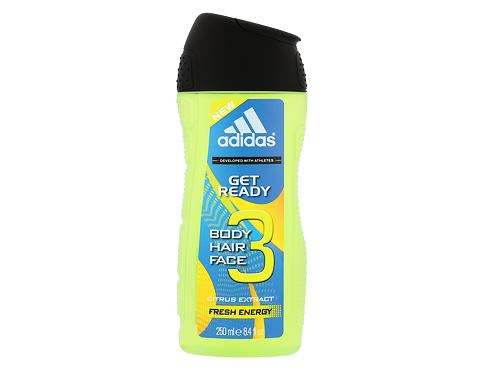 Gel za prhanje Adidas Get Ready! For Him 2in1 250 ml