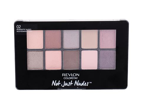 Senčilo za oči Revlon Colorstay Not Just Nudes 14,2 g 02 Romantic Nudes