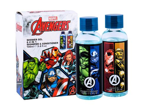 Gel za prhanje Marvel Avengers 2x100 ml Seti